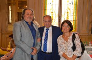 Remise chèque par l'Association B'Naibrith Moshe Dayan 18 juin 2015