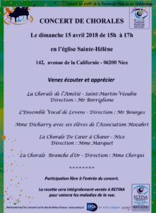Concert de Chorales - Nice